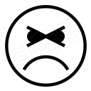Emoticon Angry Icon 128x128