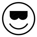 Emoticon Cool Icon 128x128