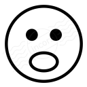 Emoticon Surprised Icon 128x128