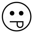Emoticon Tongue Icon 128x128