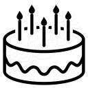 Fancy Cake Icon 128x128