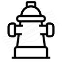 Fire Hydrant Icon 128x128