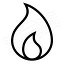 Flame Icon 128x128