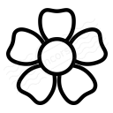 Flower Icon 128x128