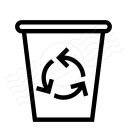 Garbage Icon 128x128