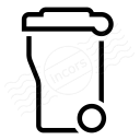 Garbage Container Icon 128x128