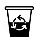 Garbage Half Full Icon 128x128