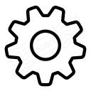 Gearwheel Icon 128x128