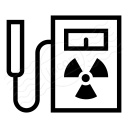 Geiger Counter Icon 128x128