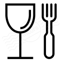 Glass Fork Icon 128x128