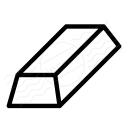 Gold Bar Icon 128x128