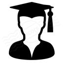 Graduate Icon 128x128