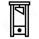 Guillotine Icon 128x128