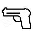 Gun Icon 128x128