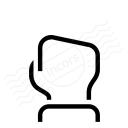 Hand Count Zero Icon 128x128