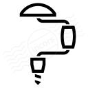 Hand Drill Icon 128x128