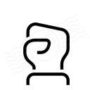 Hand Fist 2 Icon 128x128