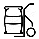 Hand Truck Bag Icon 128x128