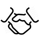 Handshake Icon 128x128