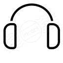 Headphones Icon 128x128