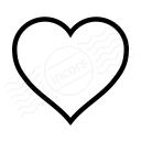 Heart Icon 128x128