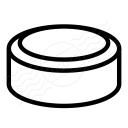 Hockey Puck Icon 128x128