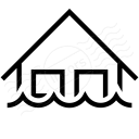 Home Water Icon 128x128
