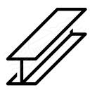 I-beam Icon 128x128