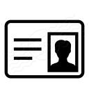 Id Card Icon 128x128