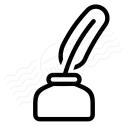 Inkpot Icon 128x128