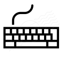 Keyboard Icon 128x128