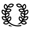 Laurel Wreath Icon 128x128