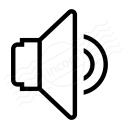 Loudspeaker 3 Icon 128x128