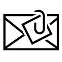 Mail Attachment Icon 128x128