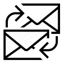 Mail Exchange Icon 128x128