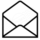 Mail Open Icon 128x128