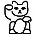 Maneki Neko Icon 128x128
