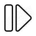 Media Step Forward Icon 128x128