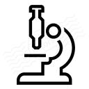 Microscope Icon 128x128