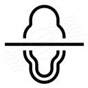 Mirror Vertically Icon 128x128