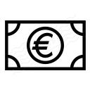 Money Euro Icon 128x128