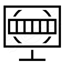 Monitor Test Card Icon 128x128