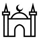 Mosque Icon 128x128