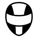 Motorcycle Helmet Icon 128x128