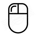 Mouse Left Button Icon 128x128