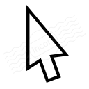 Mouse Pointer Icon 128x128