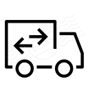 Moving Truck Icon 128x128