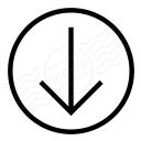 Nav Down Icon 128x128
