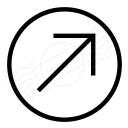 Nav Up Right Icon 128x128