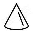 Object Cone Icon 128x128